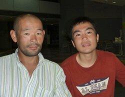 松崎和幸くんとお父さん