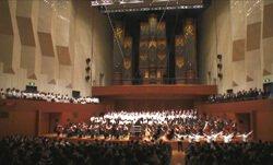 21世紀の平和のために歌う第九コンサート の様子(2006.5.6 東京芸術劇場)